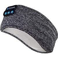 Sömnhörlurar trådlösa – Navly V5.0 sport pannband hörlurar med ultratunna HD stereohögtalare, perfekt för sport…