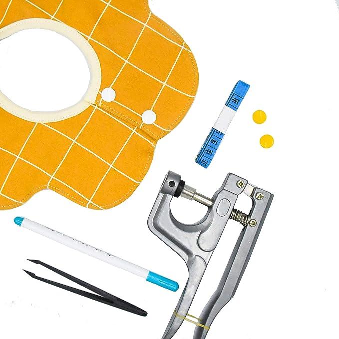 Amazon.com: Lynda 360 piezas T5 plástico Cierre de broche y ...