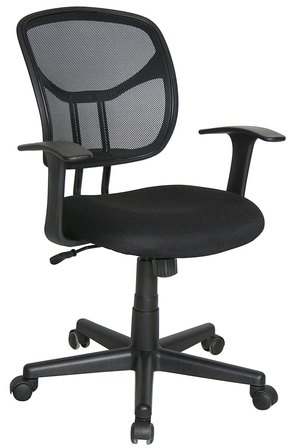 Delicieux Amazon.com: Essentials By OFM Mesh Swivel Task Chair With Arms, Black:  Industrial U0026 Scientific