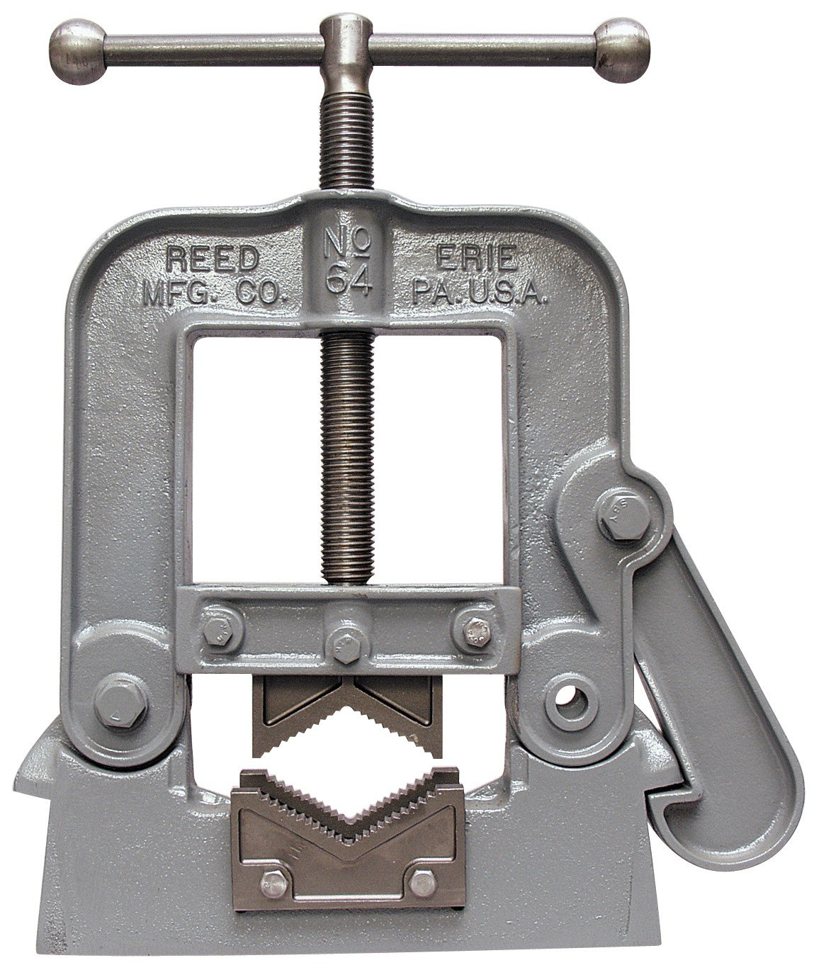 Reed Tool 65 Yoke Pipe Vise, 1 to 8-Inch