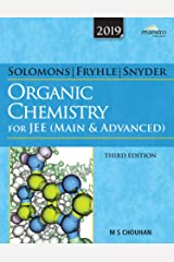 Wiley's Solomons, Fryhle & Snyder Organic Chemistry for JEE (Main & Advanced), 3ed, 2019 Paperback