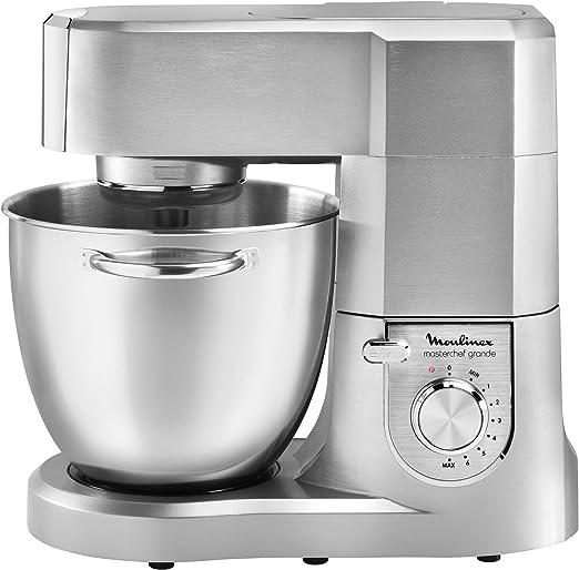 Robot de cocina grande Moulinex Masterchef QA800BB1 de 6,7 litros ...