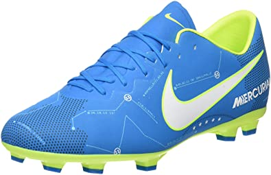 57af05dd8c92 Nike Kids  Jr. Mercurial Vapor XI Neymar FG Football Boots White Blue Orbit-