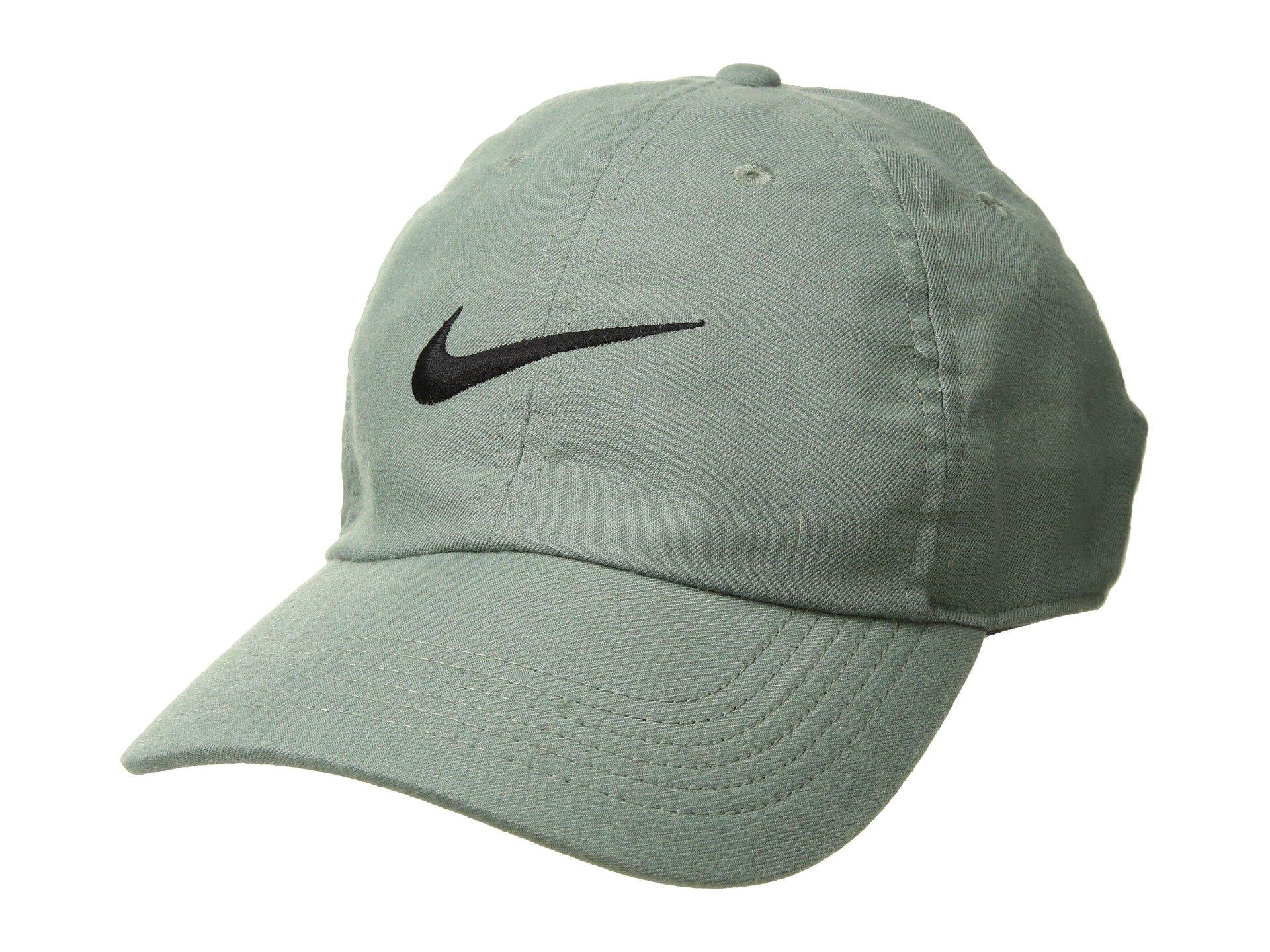 42da13815863f Galleon - NIKE Men s Twill H86 Adjustable Hat (Clay Green Black ...