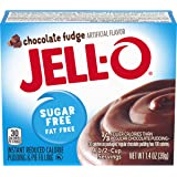 Jell-O Instant Chocolate Fudge Sugar-Free Fat Free Pudding & Pie Filling (1.4 oz Boxes, Pack of 24)