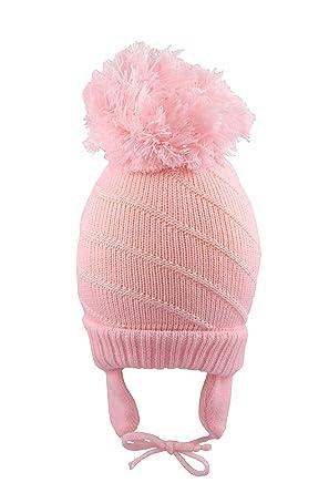 88f6cfe4c51 Pesci Baby Boys Girls Pompom Hat  Amazon.co.uk  Clothing