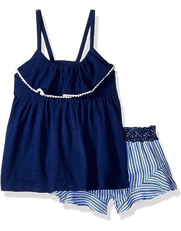 fcccdf4a27b4 Calvin Klein Girls  Flounce Shorts Set