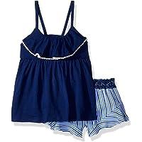 Calvin Klein Flounce - Juego de Pantalones Cortos para niña