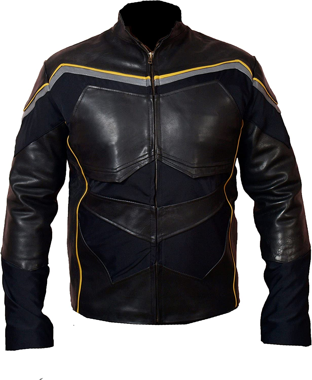 MSHC Smith Hancock Black Faux Leather Will Jacket XXS-5XL Black