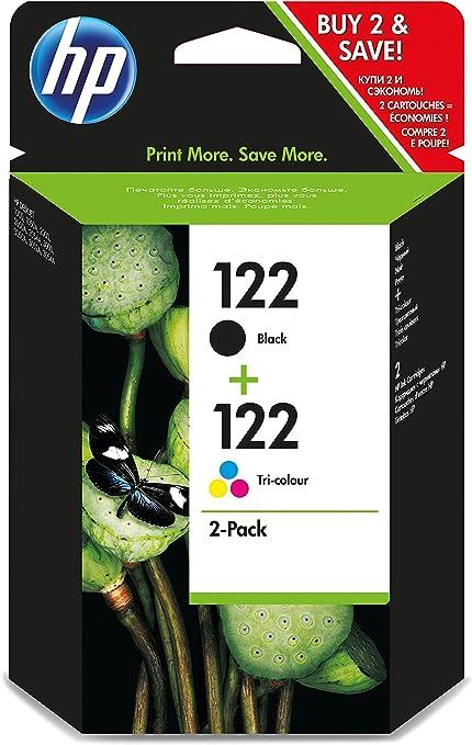 HP 122 Combo-pack Black/Tri-color - Cartucho de tinta para ...