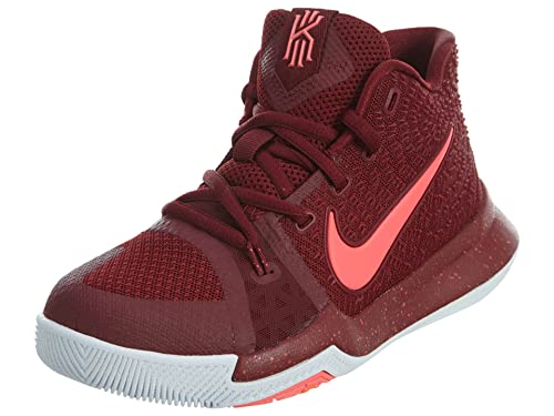 Nike Kyrie 3 Little Kids (PS) Shoes Team Red/White/Hot Punch