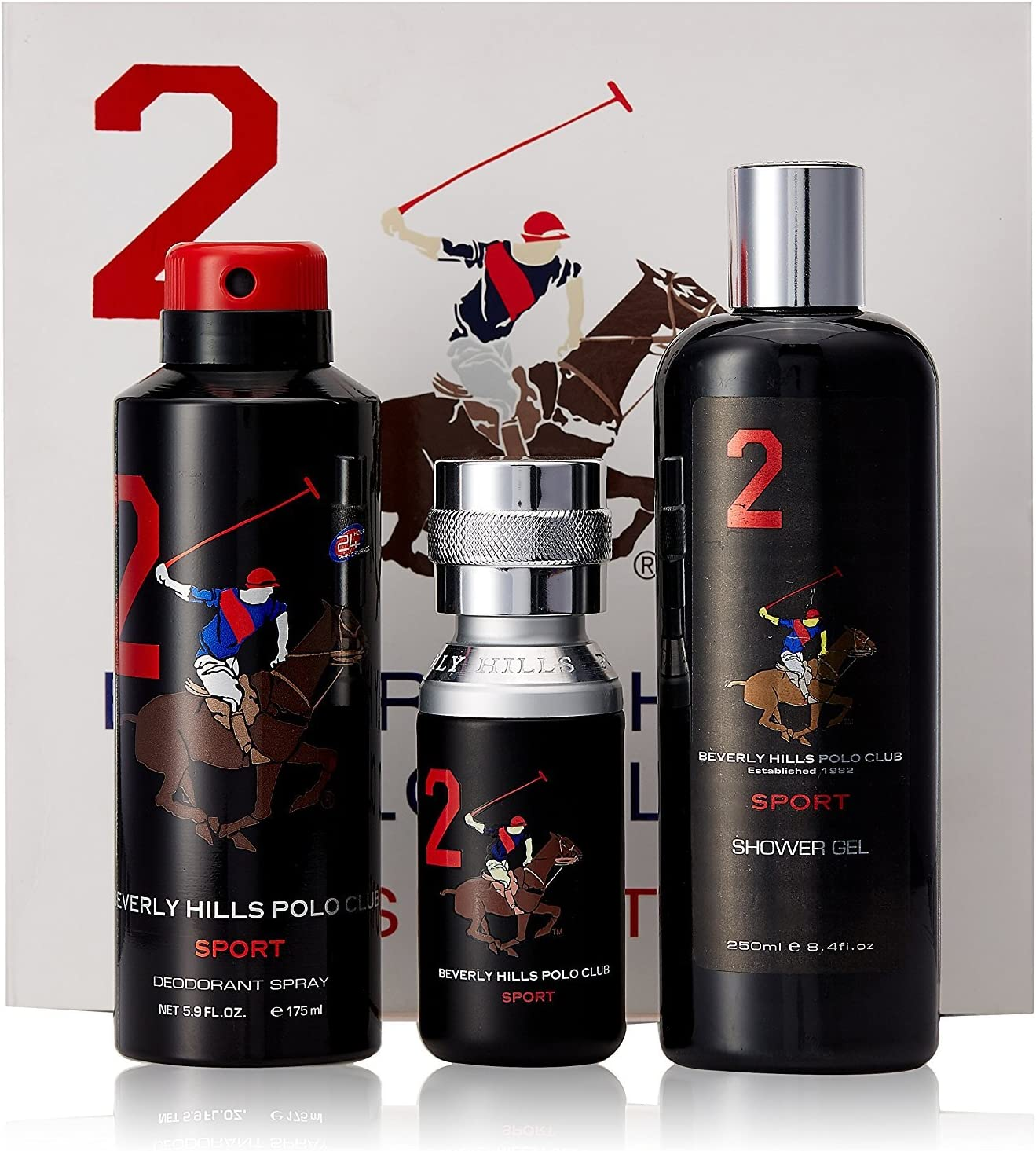 Beverly Hills Polo Club - Set de regalo para hombre (desodorante ...