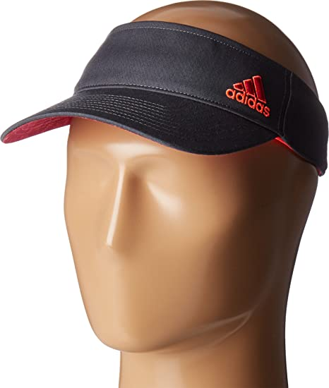 a7b2d74bcaf62 adidas Women s Squad Visor Deepest Space Bold Pink Flash Red Poison IVY  Print Hat  Amazon.co.uk  Clothing