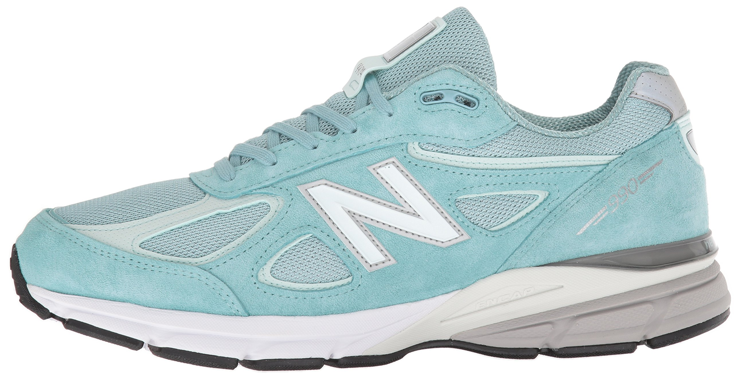New Balance Men's 990v4, Green/White, 7 D US by New Balance (Image #5)