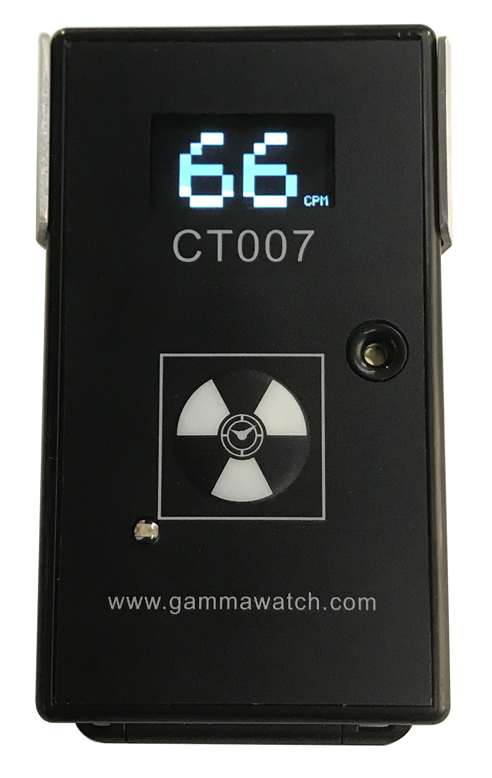 CT007-F Radiation and Radioactive Contamination Detector - Complete Alpha, Beta, Gamma Detection - Bluetooth 4.0