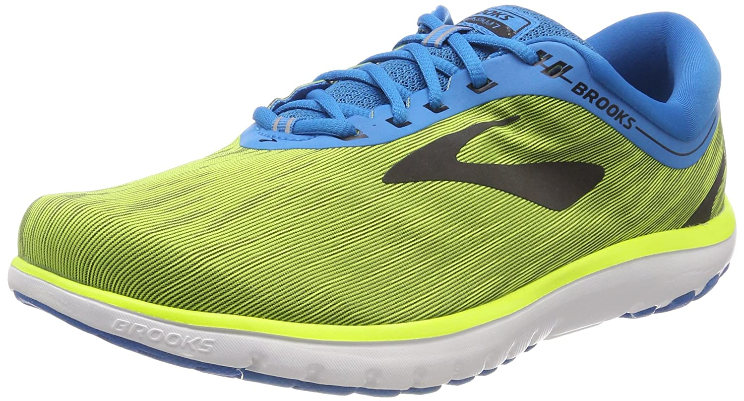 Brooks Pureflow 7, Zapatillas de Running para Hombre 42 EU|Multicolor (Nightlife/Blue/Black 761)