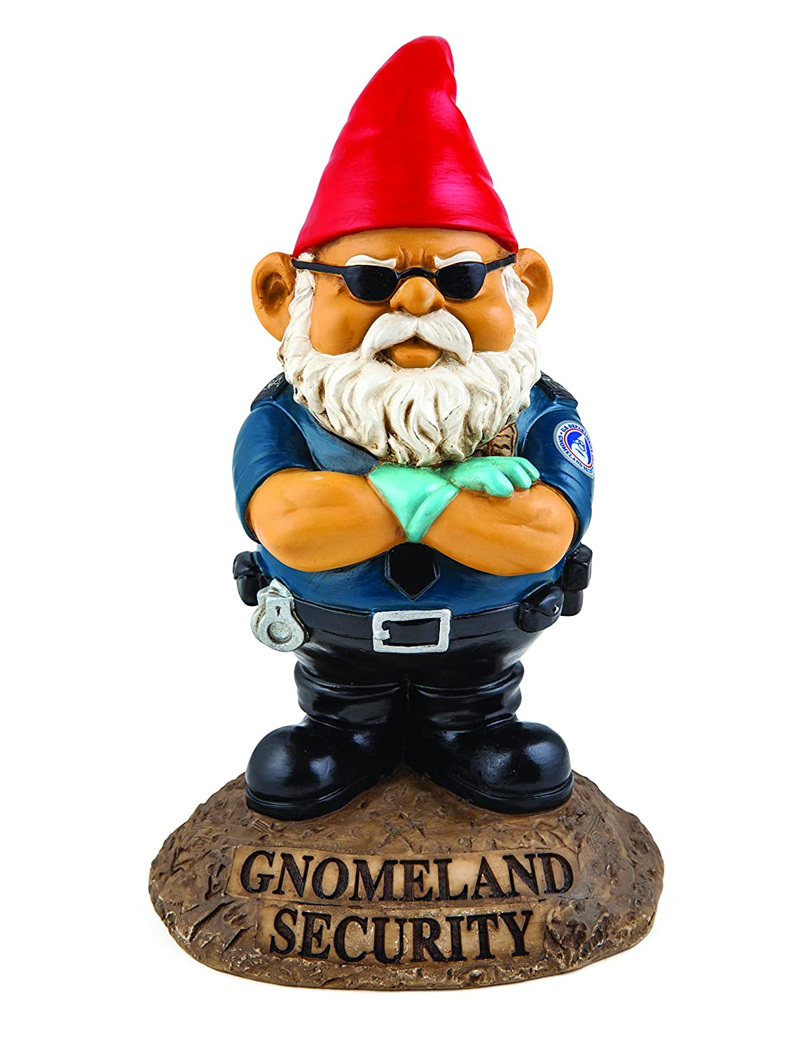 BigMouth Inc Gnomeland Security Garden Gnome