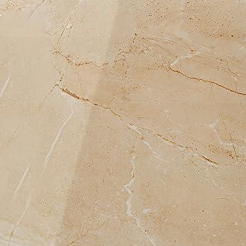 Bodenfliesen Solid Poliert Beige 60x60cm | Boden Fliesen| Bad Fliesen |  Steingut |