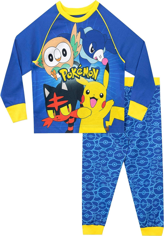 Charizard Psyduck for Girls and Boys Mewtwo Pokemon Pyjamas Set Pikachu