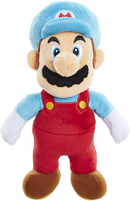 Amazon Com World Of Nintendo Nintendo Ice Mario Plush Toys Games