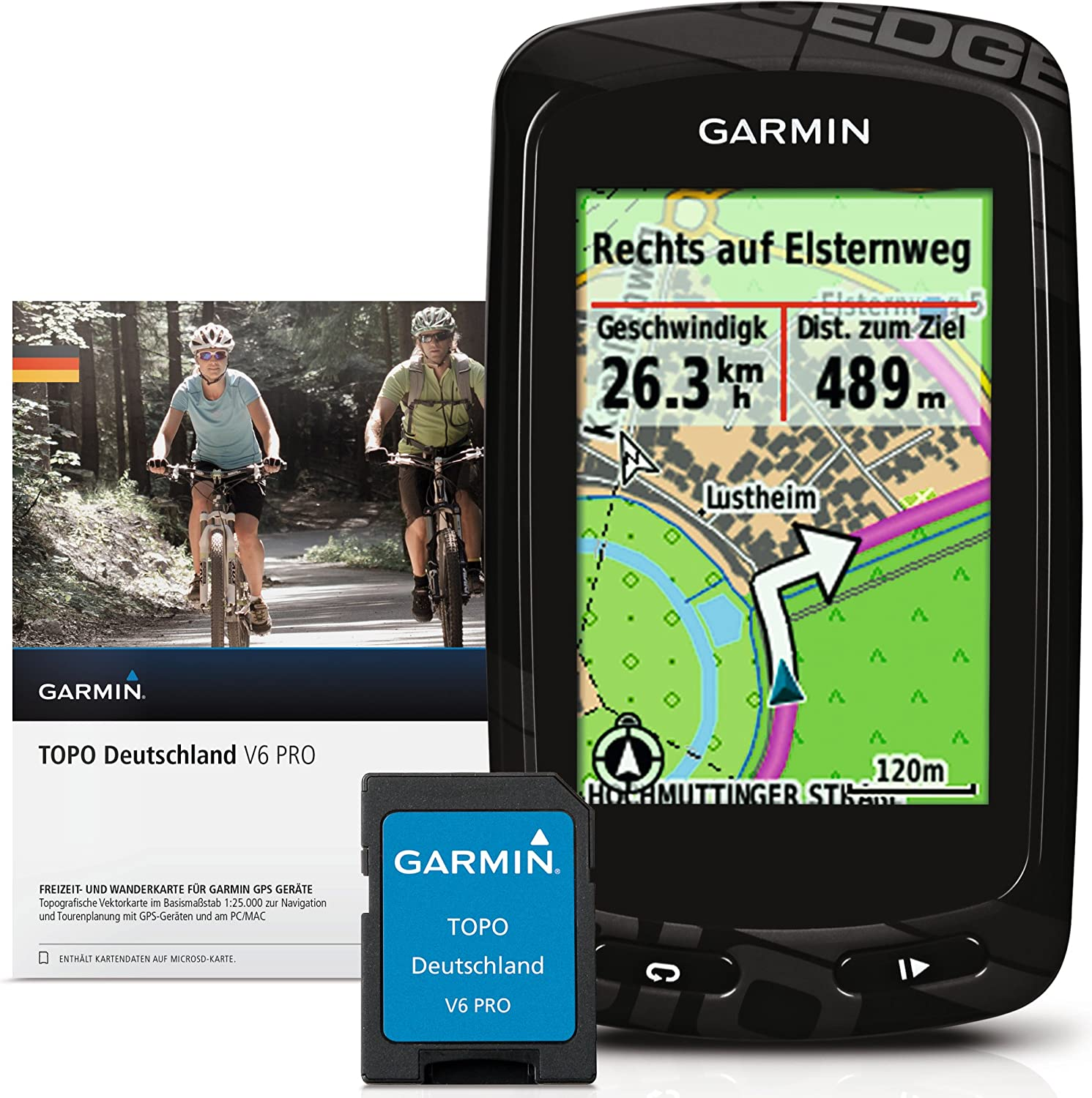 Garmin 020-00178-02 Edge 810 Bundle - GPS para Bicicleta: Amazon ...