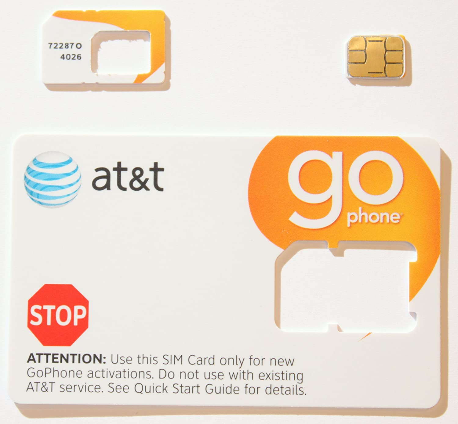 Amazon.com: At & t go-phone tarjeta de corte para ...