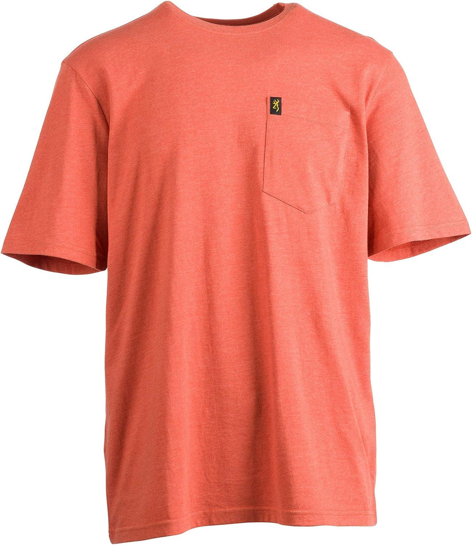 Browning Mens Pocket Tee: Clothing