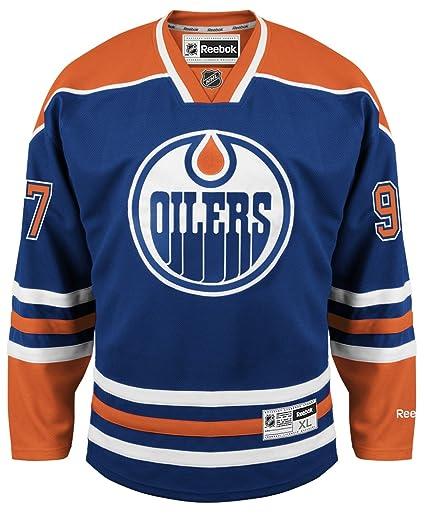new arrival 7828d 41f10 Amazon.com : Edmonton Oilers Connor McDavid Reebok Premier ...