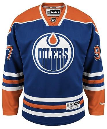 on sale b1e3d 331e8 Jersey Nhl Home Oilers Reebok Canada Edmonton Jerseys ...