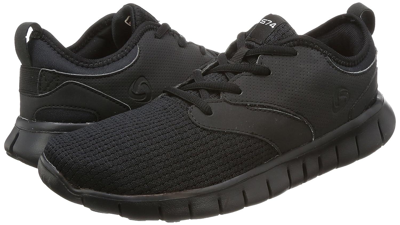 Tesla Men's Knit Pattern Sports Running Shoes L570/X573/X574/E734/X735 (True to Size) B077VMVPVB Men 9 D(M)|A-TF-X574-BKO