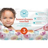 The Honest Company Disposable diapers, rose blossom print polybag, size 3, 34 Count