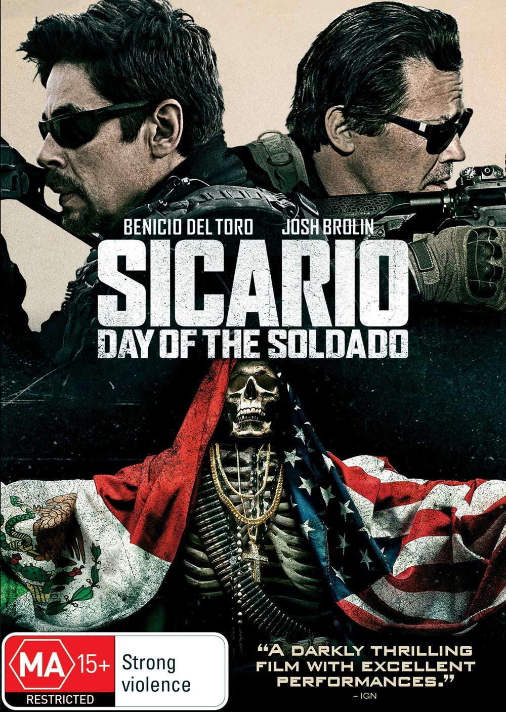 Amazon.com: Sicario Day of the Soldado | Benicio Del Toro ...