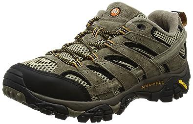 c7f13714d3c Merrell Men's Moab 2 Ventilator Hiking Shoe, Brown, ...
