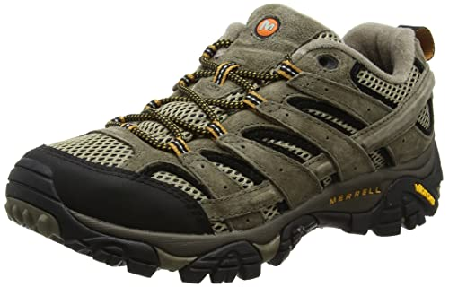 Amazon.com | Merrell Mens Moab 2 Vent Hiking Shoe, Pecan, 8 D(M) US | Hiking Shoes