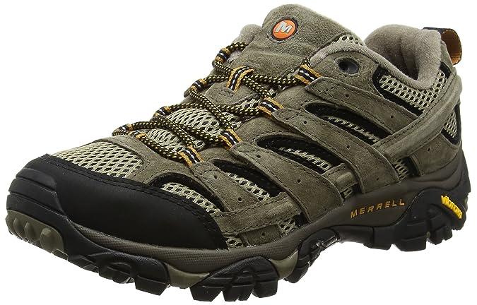 Amazon.com | Merrell Mens Moab 2 Vent Hiking Shoe, Pecan, 8 D(M) US | Hiking Shoes