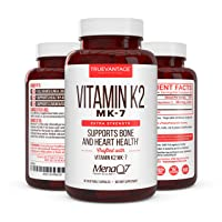 Premium Extra Strength Vitamin K2 Supplement 180mcg -Vitamin K2 MK7 Supports Bone...