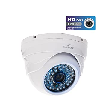 Bluestork BS-CAM/DO/HD - Cámara de vigilancia (IP, Dome