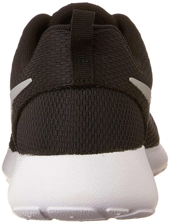 NIKE Women's Roshe One Running Shoe B00K5XQ0AG 5.5 B(M) US|Black/Metallic Platinum-white