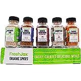 FreshJax Smoked Spices Gift Set, (Set of 5)