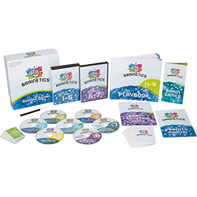 Brainetics Educational Games, Memory Techniques & Math Problem Shortcuts, Award Winning, All Ages: Toys & Games [5Bkhe1104977]
