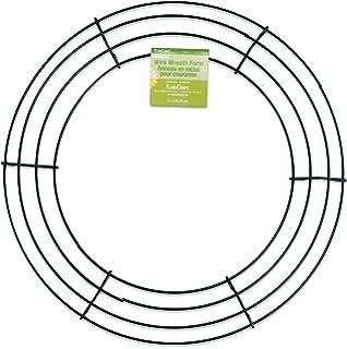 floracraft simplestyle 12 inch wire wreath green 13 gauge - Wire Wreath Frames