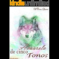 Acuarela de cinco tonos (Manada Novis nº 4) (Spanish Edition) book cover