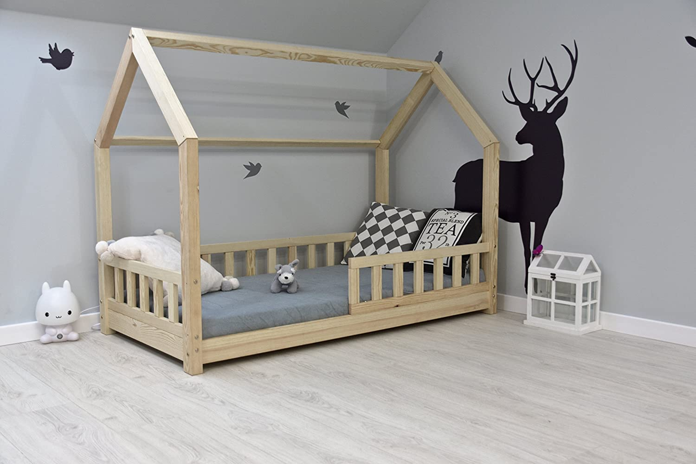 Best For Kids Kinderbett Kinderhaus Mit Rausfallschutz Jugendbett