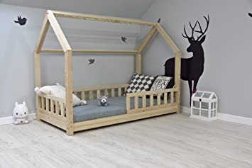 Extrem Best For Kids Kinderbett Kinderhaus mit Rausfallschutz Jugendbett JM35