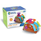 Learning Resources Spike the Fine Motor Hedgehog Fidget Friend, Preschool Toys, Tactile Toy for Toddlers, Fidget Toys, Ages 1