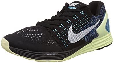 Nike Men's Lunarglide 7 Black Running Shoes -7.5 UK/India (42 EU)