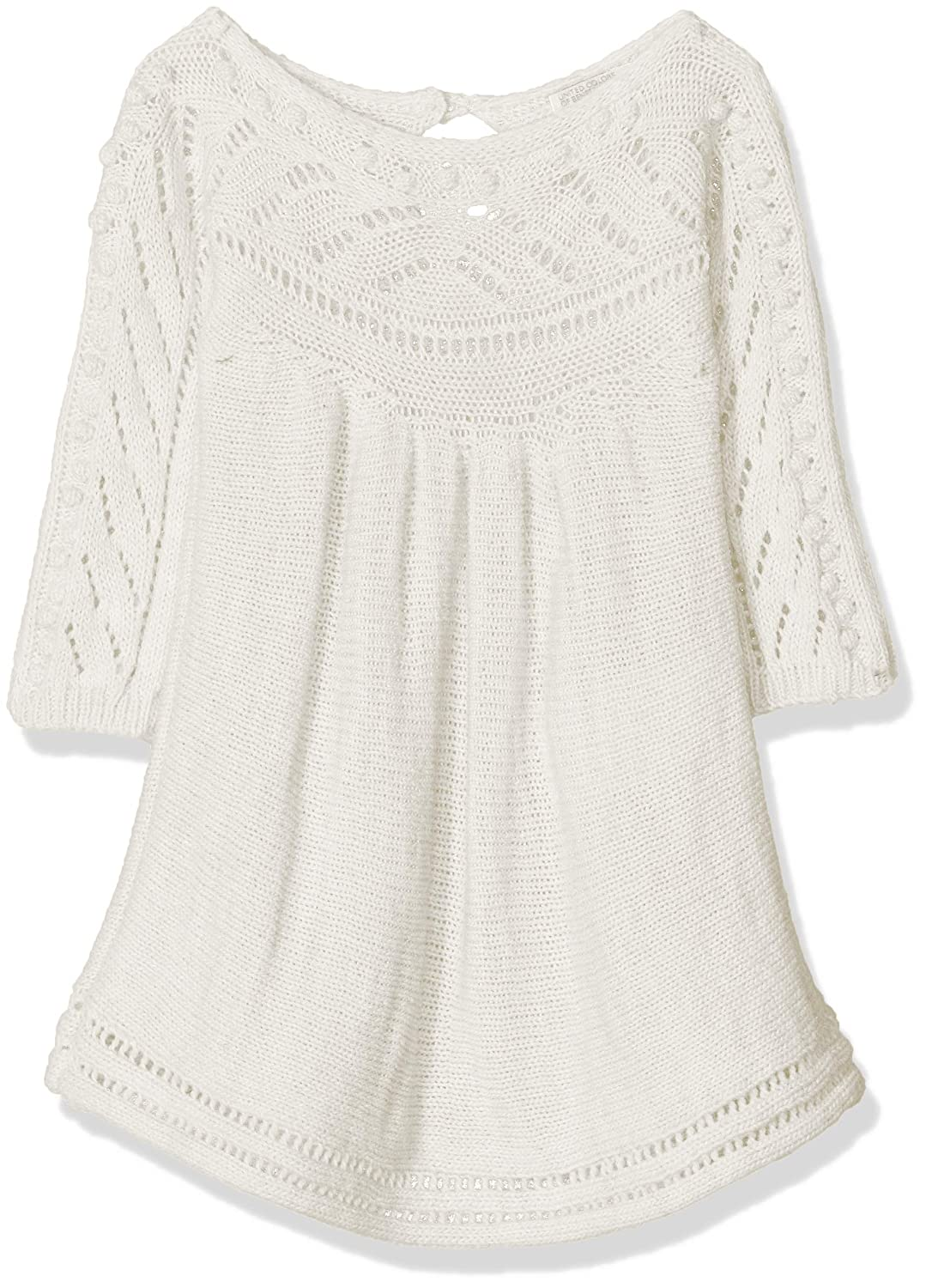 United Colors of Benetton Baby Girls Sweater L//S Jumper