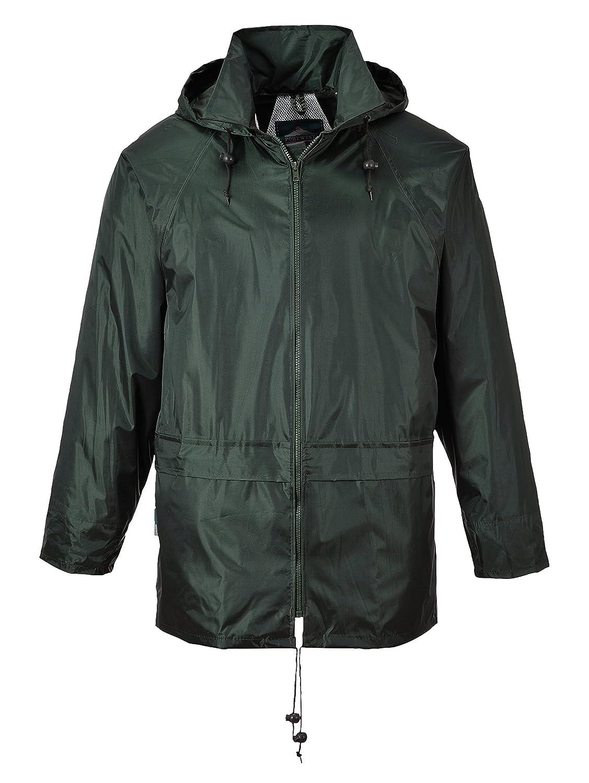 Portwest Workwear Mens Rain Jacket