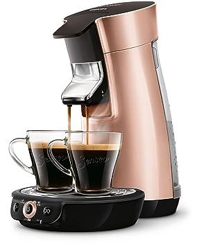 Senseo Viva Café HD7831/30 - Cafetera (Independiente, Máquina de café en cápsulas, 0,9 L, Dosis de café, 1450 W, Copper colour): Amazon.es: Hogar