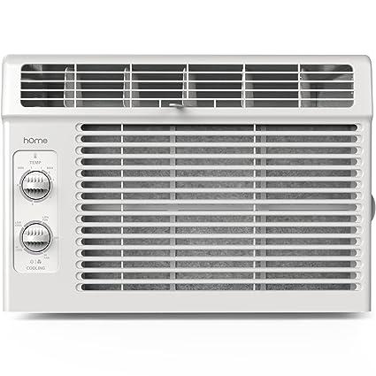 Amazon.com: hOme 5000 BTU Window Mounted Air Conditioner - Compact 7 ...